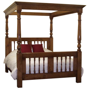rose cottage open canopy bed - Open Canopy 2016
