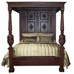 King Size Richard IV Four Poster Bed