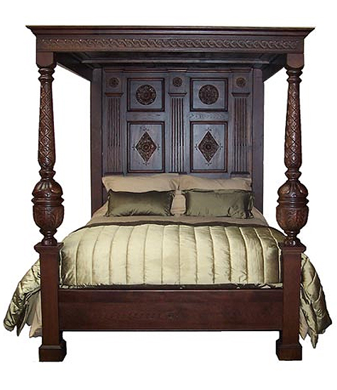 Richard IV King size four poster bed