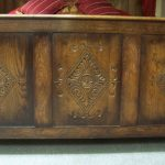 Footboard Carving Detail