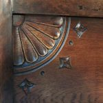 Bottom Left Carved Panel