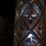 Carved Post Detail