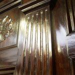 Richard IV Gloss Bed - Detail
