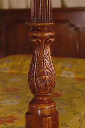 Carved Post - Detail