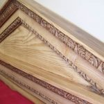 Greek Bed - Headboard Detail