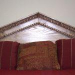 Headboard Carving - Greek bed