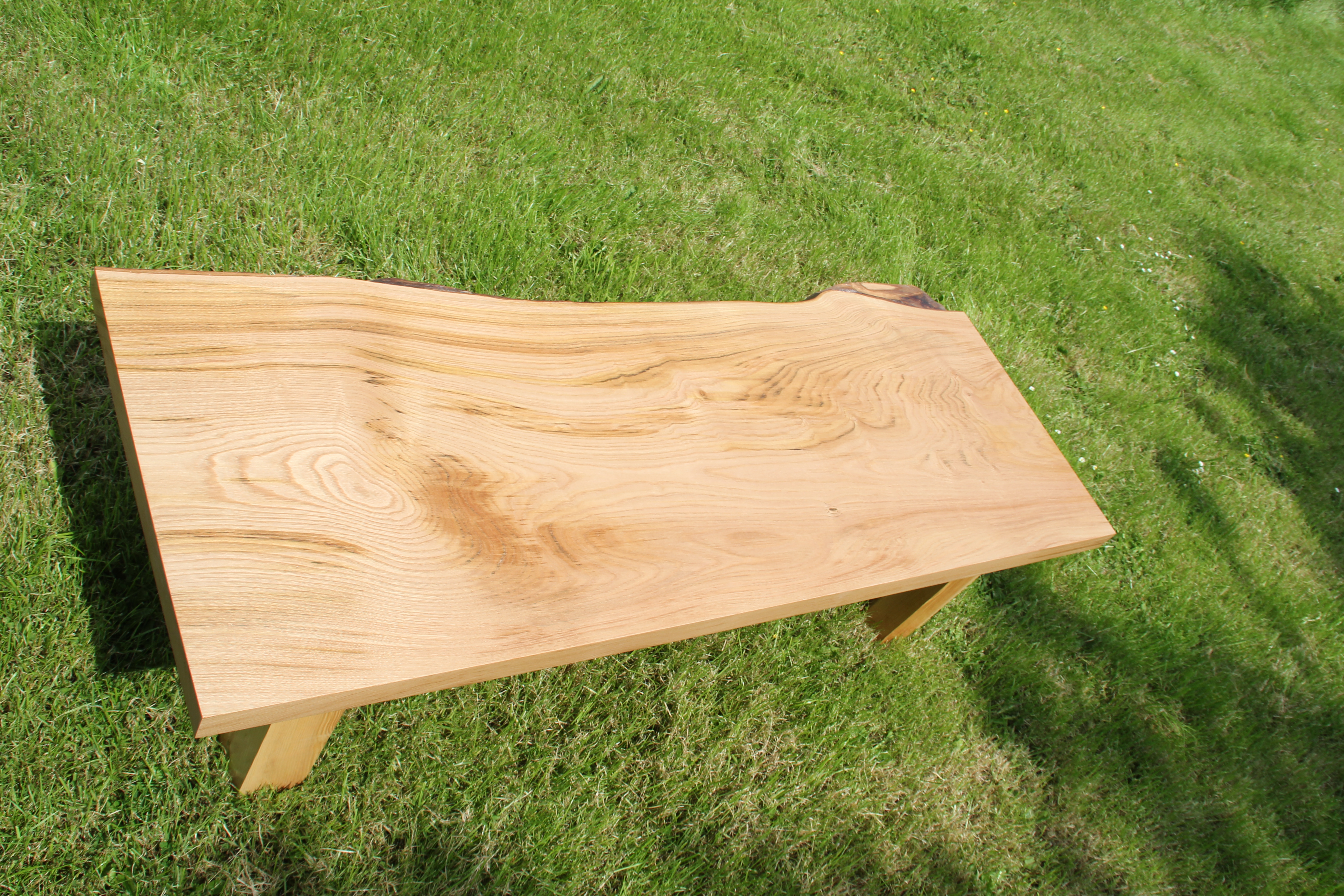 Elm Coffee Table - Wide