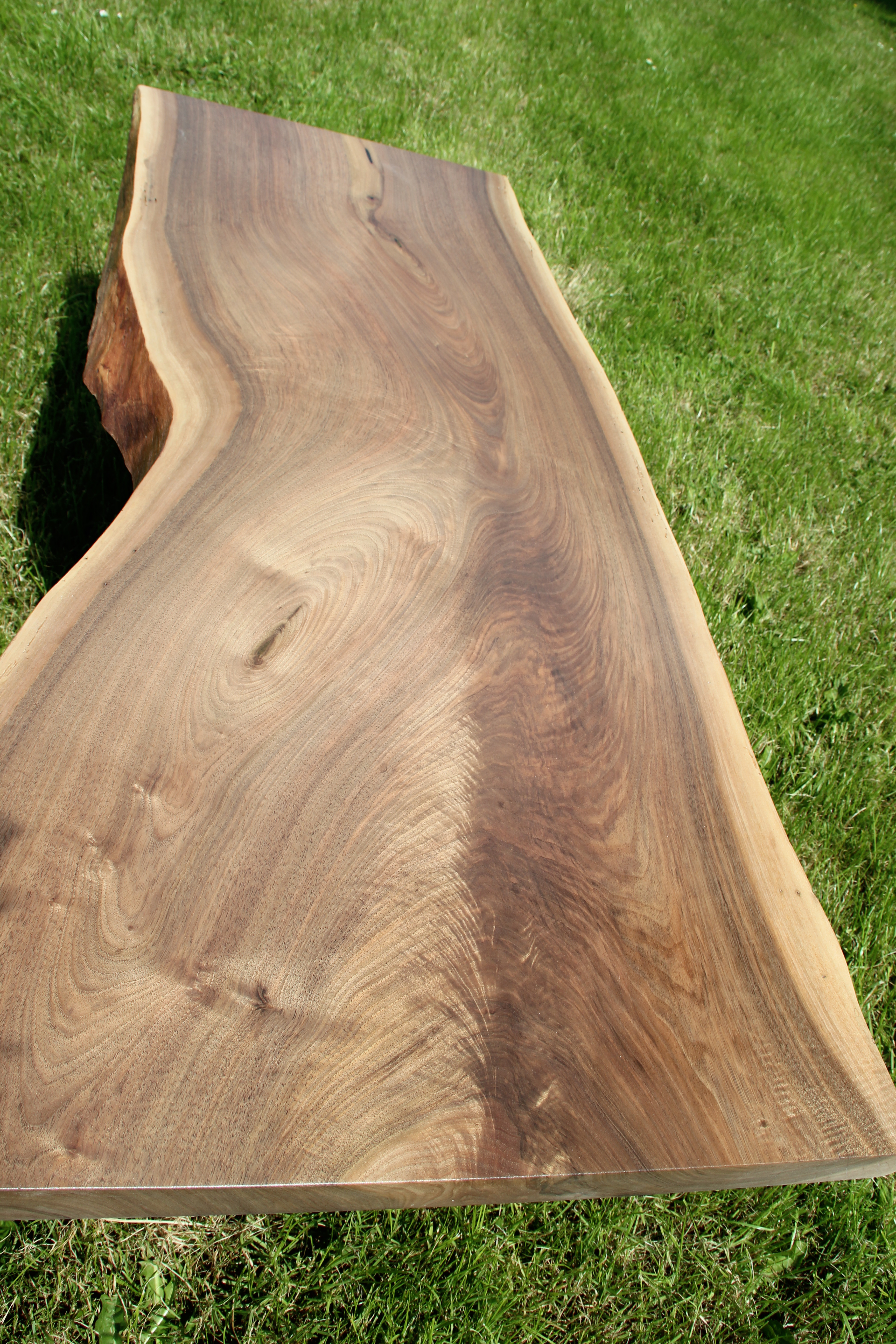 Grain Detail - Walnut