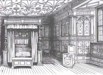 Four Poster Bed Tudor
